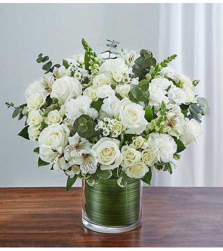 Cherished Memories™ All White Bouquet