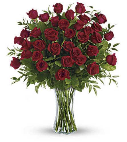 Breathtaking Beauty - 3 Dozen Long Stemmed Roses