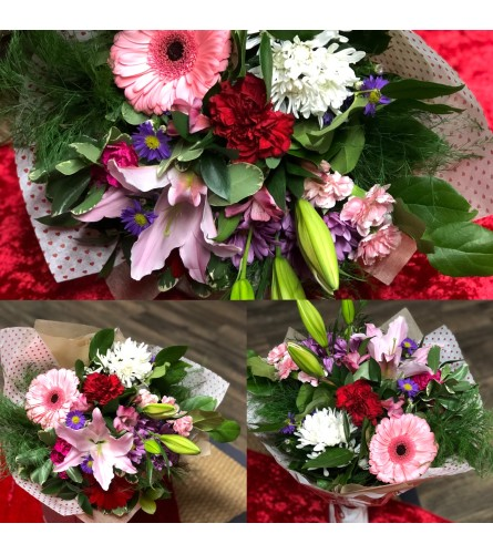 Tender Love Wrapped Bouquet