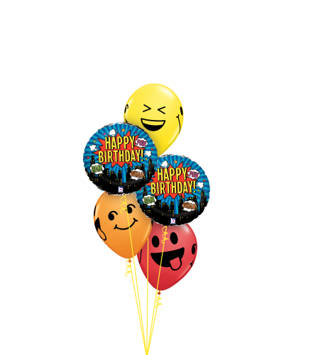 Birthday Expressions Classic Balloon Bouquet