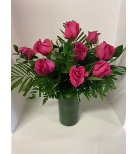 Hot Pink Roses (6-18)
