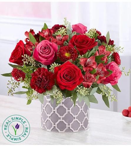 Scarlet in Modern Vase