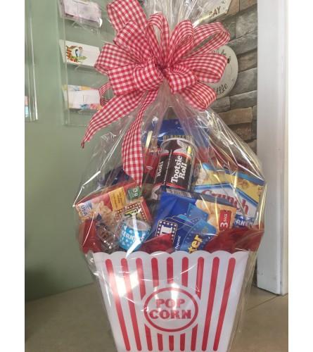 Movie Night Gift Basket(1)