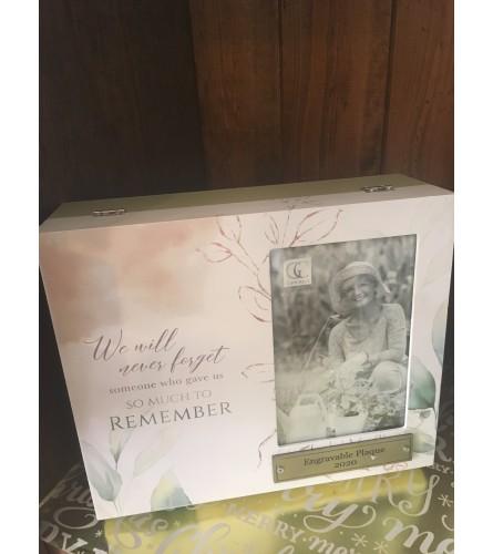 Photo Frame Memory Box