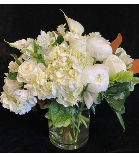 Classic white flowers