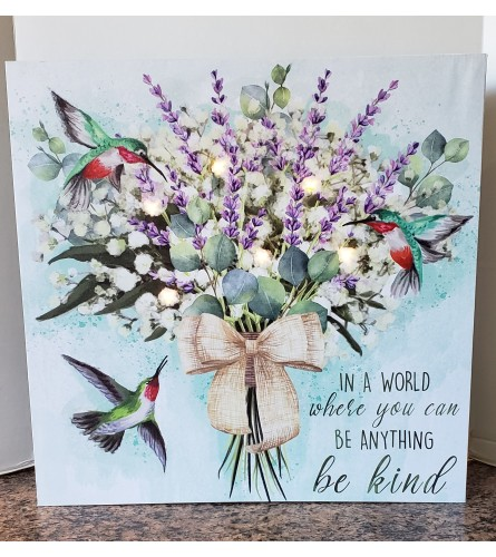 """Be Kind"" Canvas"