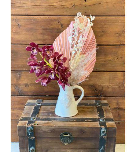 Orchid in Jar