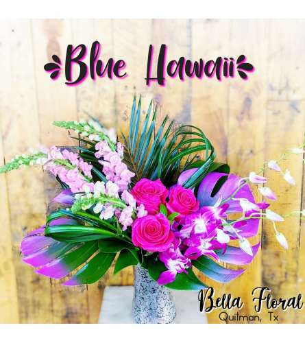 Blue Hawaii- Valentine's Special