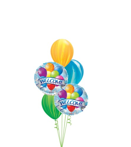 Welcome Classic Balloon Bouquet