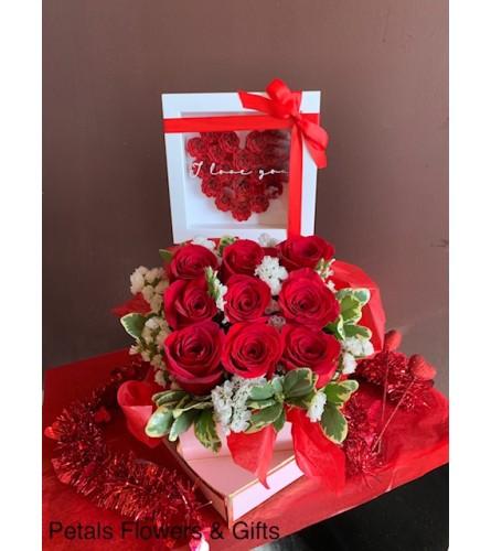 I Love You Rose Box