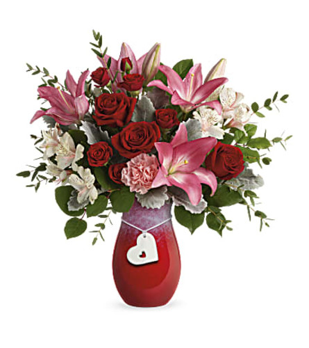Charmed in love by Teleflora