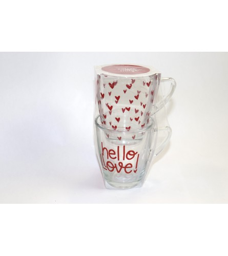 Valentine's Day Mug Set