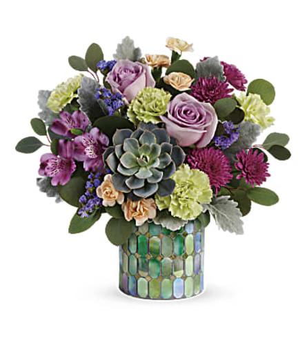 The Marvelous Mosaic Bouquet
