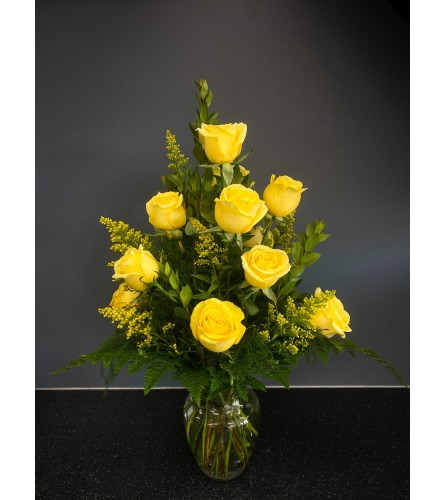 You Are My Sunshine Yellow Rose Bouquet