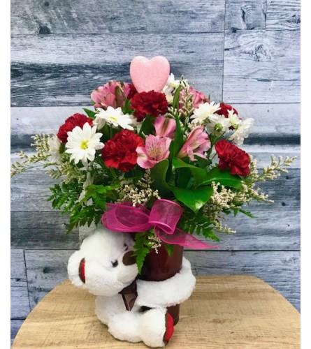 Bear Hugs and Kisses Valentines
