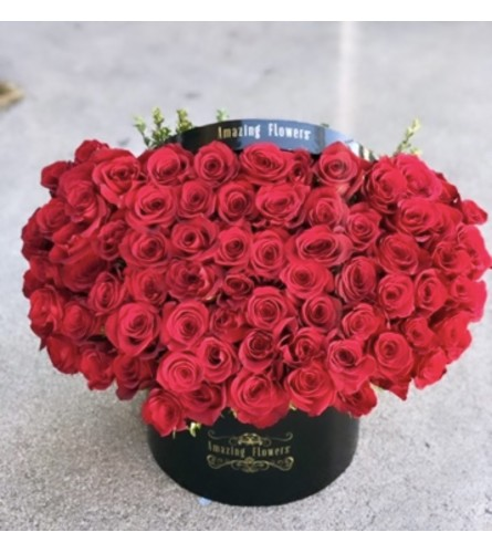 Amazing Flowers Signature Black Box