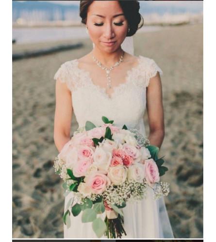 Rustic Wedding Hand Tied Wedding Bouquet