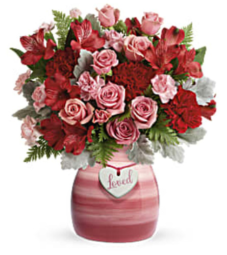 Teleflora Playfully Pink TF