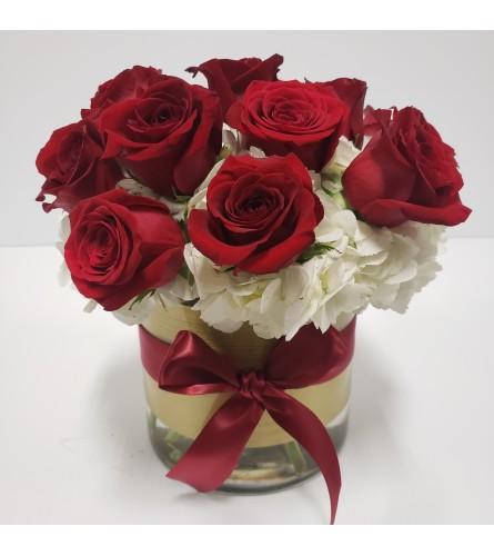 Prestige premium dozen red roses