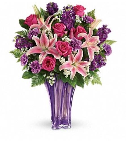 A Luxurious Lavender Bouquet