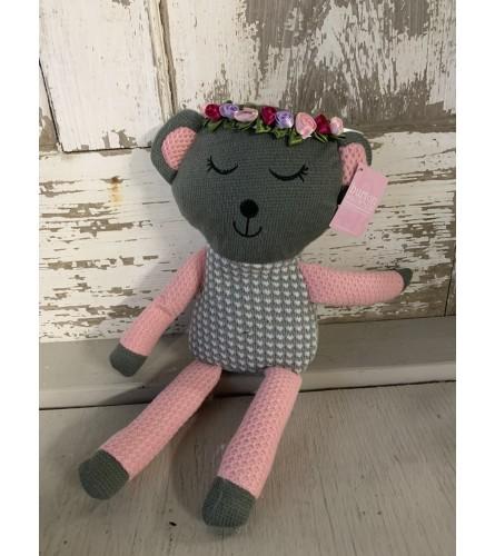 Floral Crown Teddy Bear