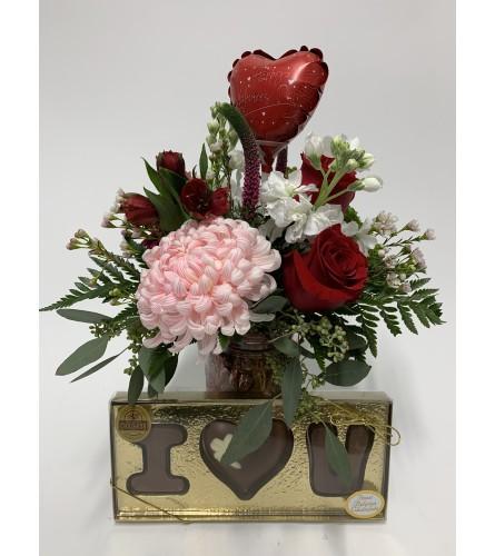 Florist Valentine's Day special