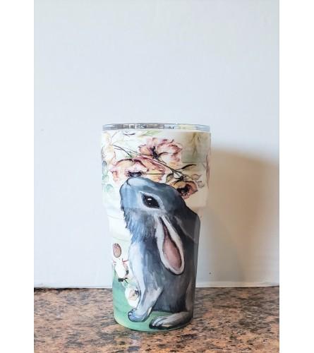 Rabbit Traveling Mug