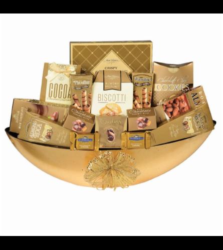 Golden Crunch Gourmet Basket