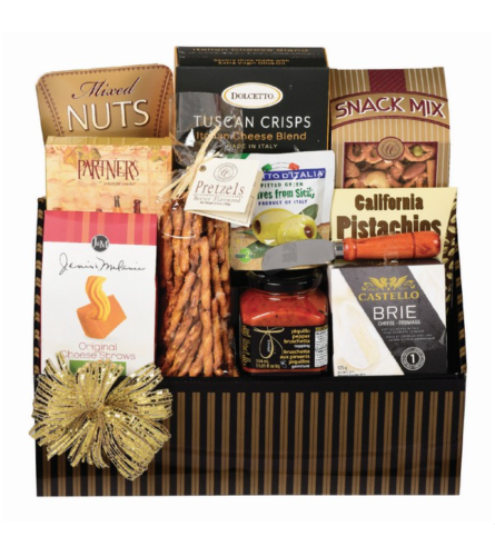 Hors D'Oeuvres Gourmet Basket