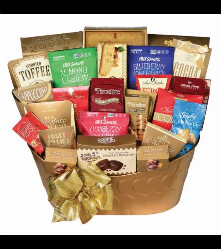 Pot of Gold Gourmet Basket