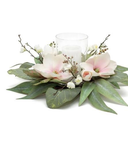 Magnolia Centerpiece Decor
