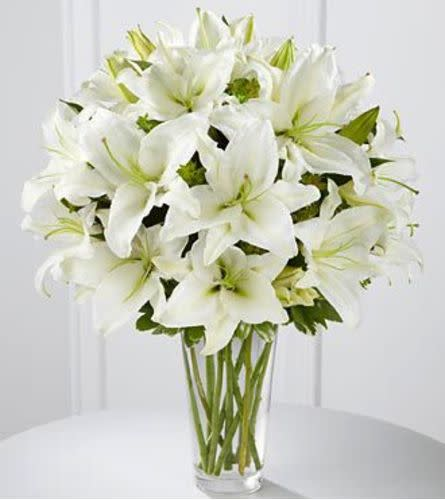 White Oriental Sophistication Arrangement