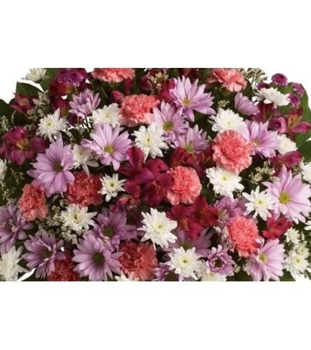 BIRTHDAY VASE OF ASSORTED FLOWERS