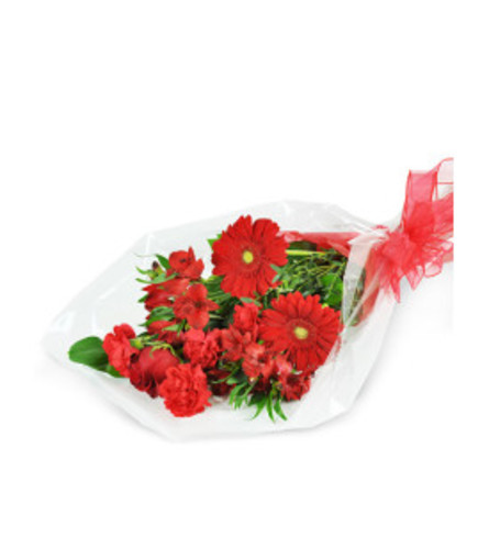Small Red Romance, Wrapped Bouquet
