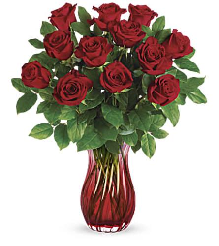 Red Romantic Twist Bouquet