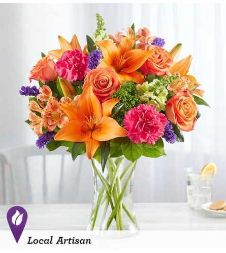 Vibrant Floral Medley Bouquet