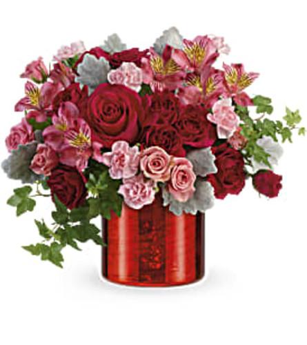 Moonstruck Mercury Valentines Bouquet