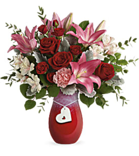 Charmed In Love Valentines Flowers