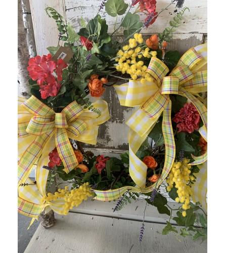 Garden Mix Wreath