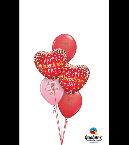 Valentine's Day Classic Balloon Bouquet