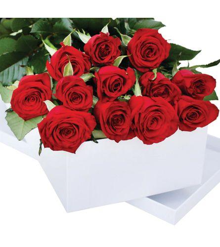 Beautiful Boxed Long Stem Roses