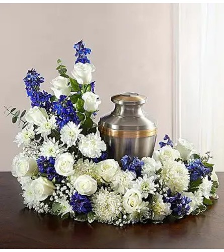 For Him Cremation Flowers