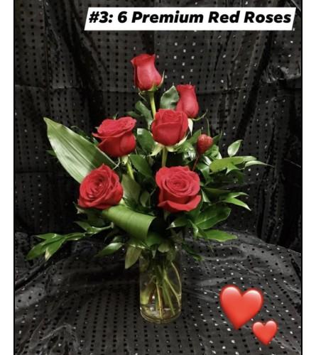 I LOVE you 6 roses#3
