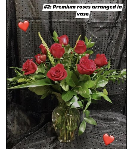 I LOVE you Premium Red Roses#2