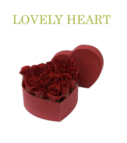 Lovely Heart Box