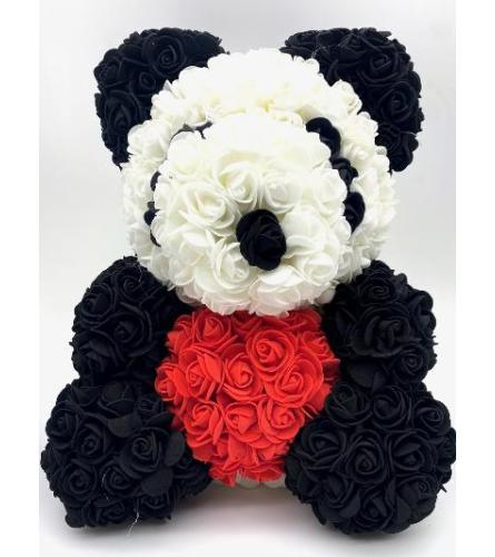 Panda Rose Bear  16 Inch(ONLY AVAILABLE IN BROOKLYN NY)