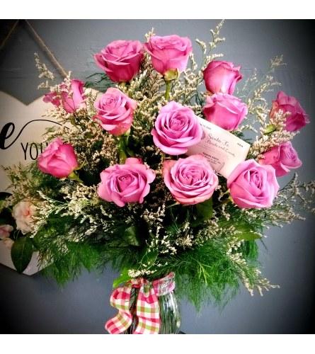 Sweet Lavender Roses