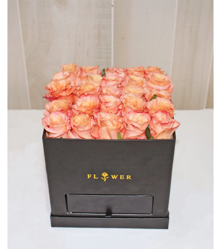 Jewelry Box filled with Roses
