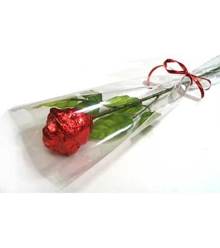 Choc Rose Wrapped