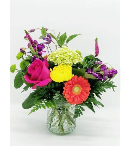 Cute As A Button Bouquet